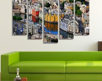 Norway, Colorful Wall Art, Colorful Prints, Colorful Wall Décor, Colorful Artwork , Colorful Art Print, River, Home Décor, Wall Art
