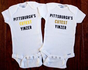 Pittsburgh's Cutest Yinzer Onesie