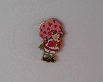 Vintage Strawberry Shortcake Pin Magnet