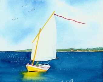 Sailboat - Print no.1313