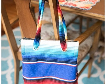 Multi-color Boho Purse | Colorful Handbag | Red Blue Yellow Purse