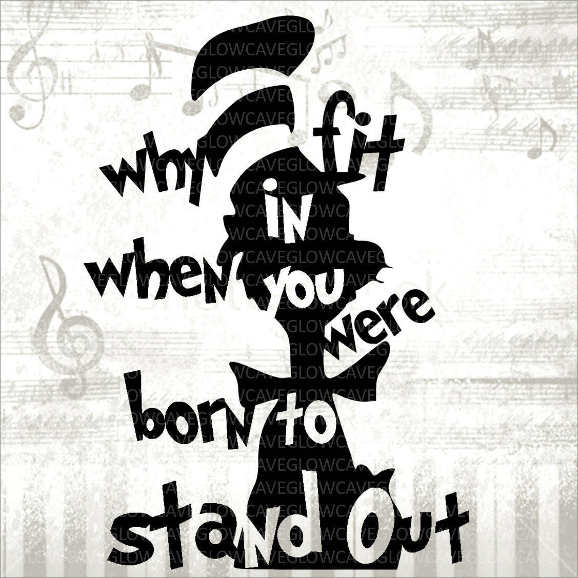 Dr Seuss Svg Dr Suess Image Cat In The Hat Svg Cat In