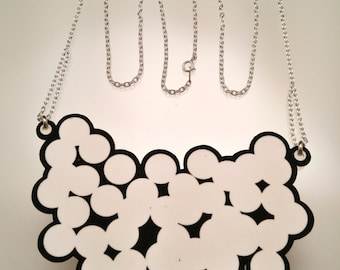 Dot Necklace / Shrinky Dink Necklace