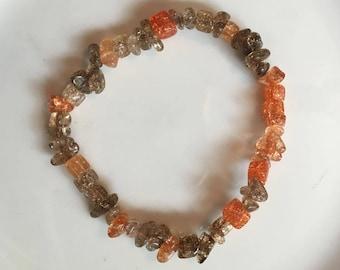 Multi Colored Bead Stretch Bracelets