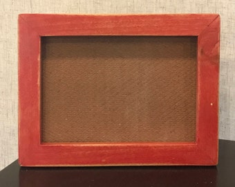 Unique Semi-Transparent Red Frame