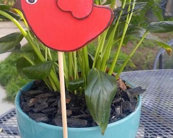 Spring Red Bird