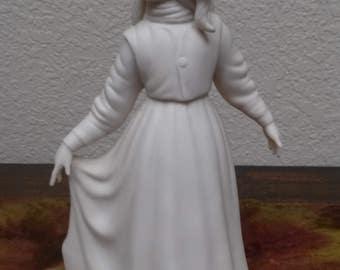 Laszlo Ispanky Figurine-Peasant Girl
