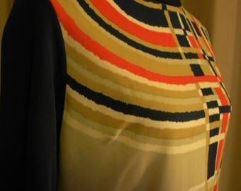 Vintage *Plus Size* Print Dress