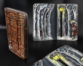Leather Wallet Chronicles of Narnia