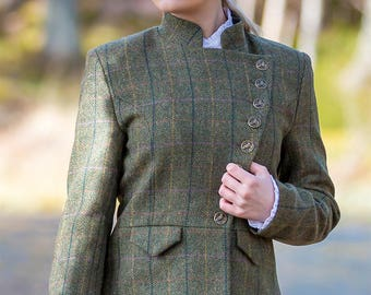 Lieutenant Jacket in Galloway Tweed