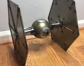 Scrap metal Star Wars Tie fighter