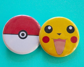 Pokemon 1.25 in Buttons