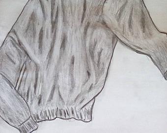 Lápiz de dibujo de mano