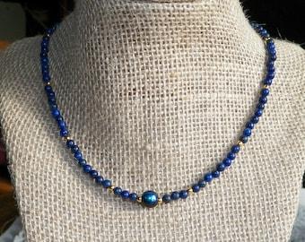 Simple Lapiz Lazuli Necklace