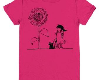 Sunflower Girl Youth Tee Shirt