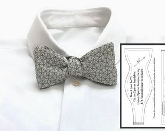 Pdf Bowtie Tutorial Wedding Bowtie Pdf Pdf Bow Ties Bow Tie Tutorial Pdf  Bowtie Pattern Self