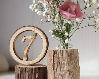 Wedding table number, rustic table number, Party event table number, wedding centrepiece