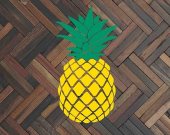 Pineapple decal Pineapple sticker Pineapple car decal Pineapple car sticker Pineapple window decal Pineapple window sticker Summer decal