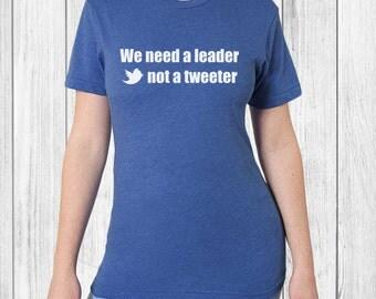 Anti Trump Womens Tshirt - political tee, funny t-shirt, womens march, protest t shirt, plus size