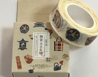 Japanese Masking Tape -Japan Design Tape - Masking Tape - Decorative Tape - Gift Wrapping Tape - Scrapbooking Tape - Japanese Tape