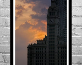 Architecture Photography, Color Photography, Black and White Photography, Urban Photography, Chicago - Time