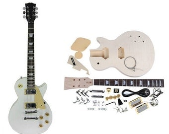 DIY Electric Guitar Kit - Durable Materials - Gibson Les Paul