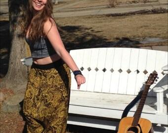 bohemian harem pants, hippy pants, gypsy pants, yoga pants, casual, travel, festival, free spirit