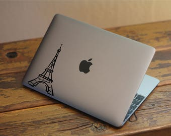 Eiffel Tower Sticker - Eiffel Tower Decal - MacBook Stickers - Car Decal