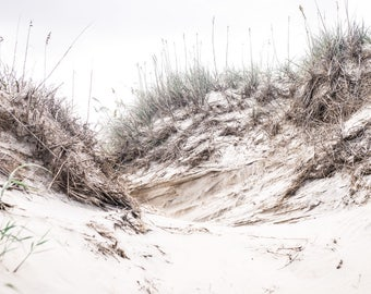 Sand Dunes on the Outer Banks Print