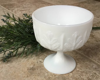 Vintage Milk Glass Dish