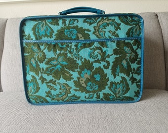 Avon Tapestry Suitcase and Tote Bag