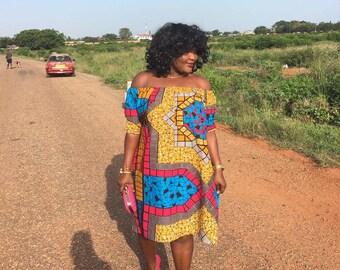 Delali off-shoulder dress