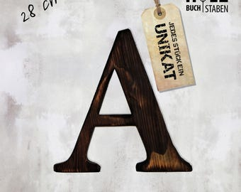 1 wood letter 28 cm of wall letters vintage shabby letters