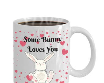 Cute Thinking of You Mug - Some Bunny Loves You - Thinking of You Mother's Day