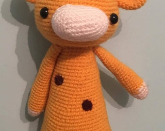 Amigurumi Tall Giraffe With Spots
