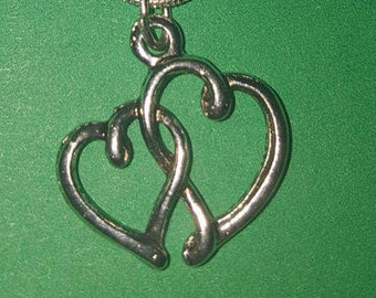 Tangled Hearts Necklace