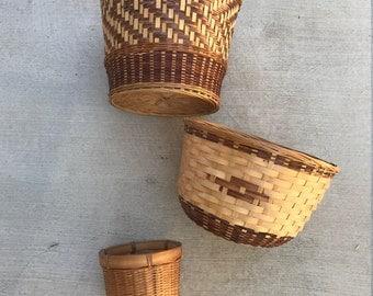 Various Woven Baskets
