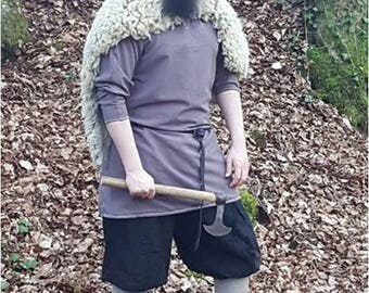 Viking Tunic |  Birka Middle-Age Barbarian Warrior Nordic Cosplay LARP German Saxon Slavian Knight
