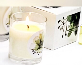 Large Soy Candle - Neroli and Ylang Ylang - Large Candle - Essential Oil Candle - Housewarming Gift - Birthday Gift - Gift for Mum