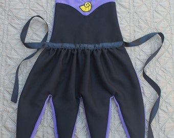 Ursula Inspired Dress Up Apron