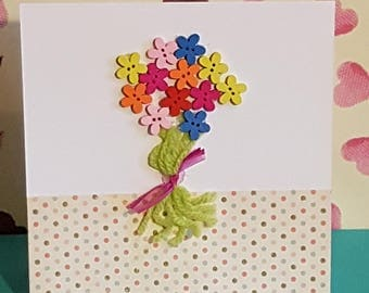 Handmade Greeting Card 6x6 inches