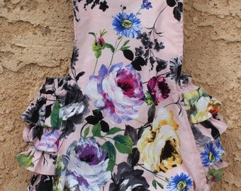 Flower Girl Romper- L