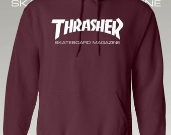 Thrasher Hoodie / Thrasher / Hoodie / Thrasher Clothing / Thrasher Skateboard Magazine Hoodie / More Colors / S - 3XL