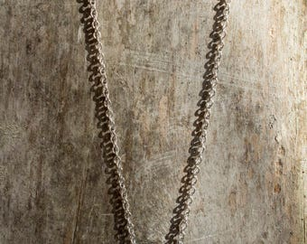 Single Layer Hex Nut Necklace