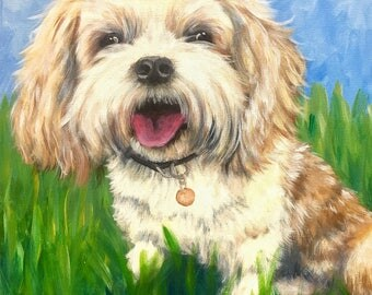Personalized Pet Portrait, 16x20