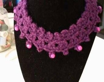 Fancy Crochet Choker