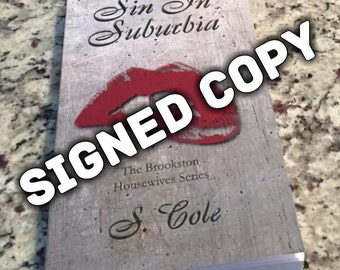 Sin in Suburbia signed copy