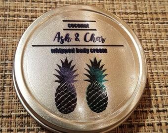 Coconut Whipped Body Cream