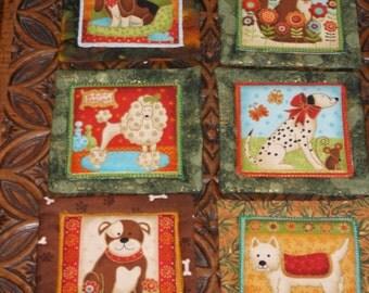 various mug mats