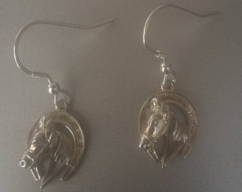 ELEGENT HORSE EARRINGS